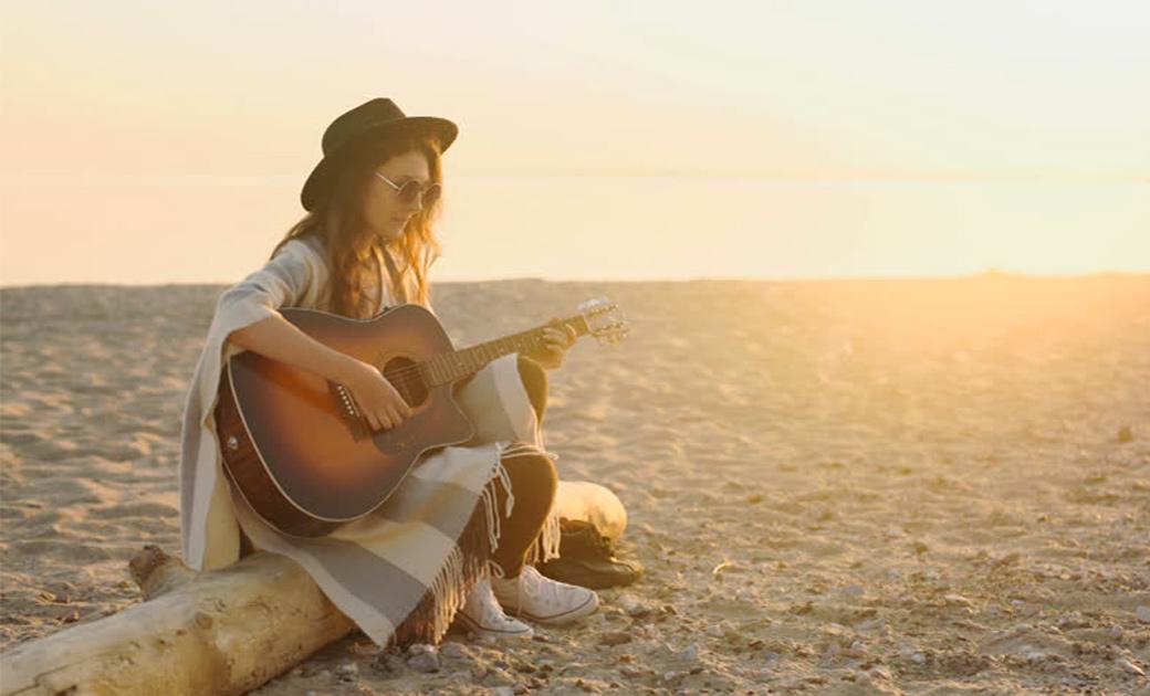 Sommer sol guitar